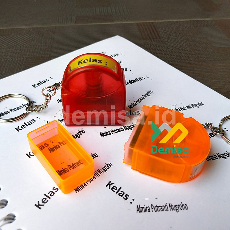 Stempel Flash Mini Gantungan Kunci